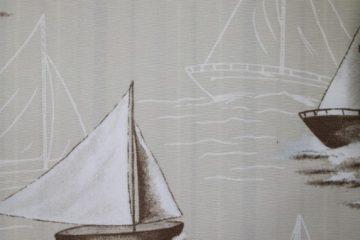 Azov Bateau 03. Плотная портьерная ткань. Ширина - 150см. Состав:65% хлопок, 35% полиэстер.